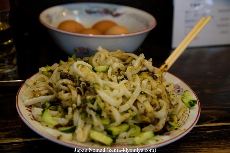 自転車日本一周41日目(盛岡じゃじゃ麺)-Japan Nomad (9)