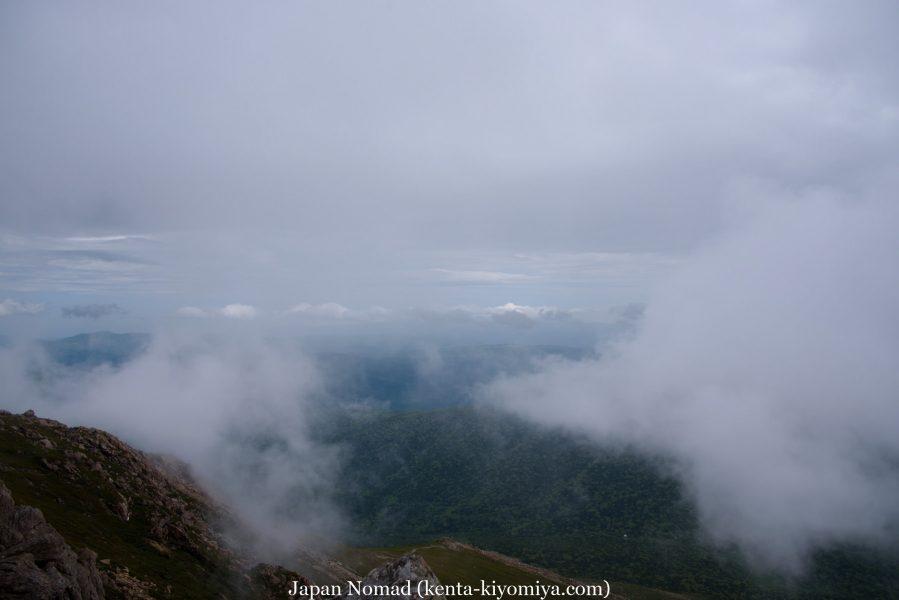 自転車日本一周43日目(笛貫の滝、早池峰山、タイマグラ)-Japan Nomad (106)