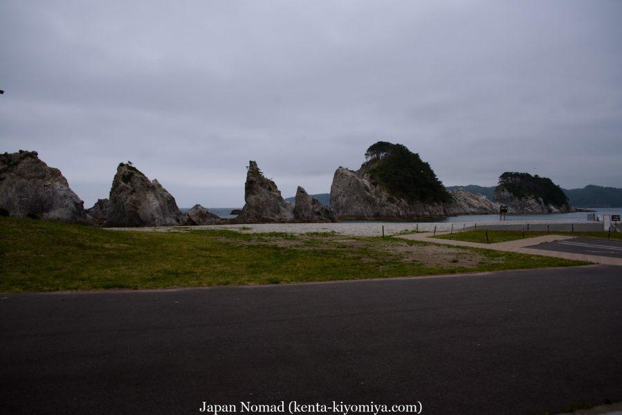 自転車日本一周45日目(浄土ヶ浜)-Japan Nomad (12)