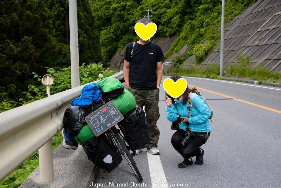 自転車日本一周45日目(浄土ヶ浜)-Japan Nomad (33)