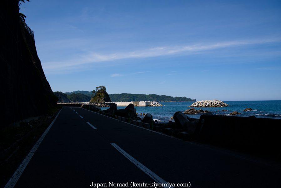 自転車日本一周46日目(龍泉洞、北山崎)-Japan Nomad (43)