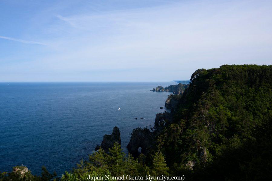 自転車日本一周46日目(龍泉洞、北山崎)-Japan Nomad (53)