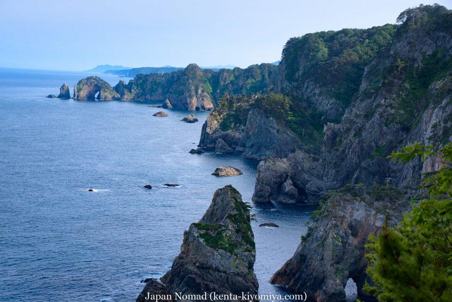 自転車日本一周46日目(龍泉洞、北山崎)-Japan Nomad (57)