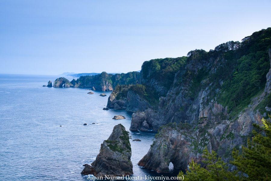 自転車日本一周46日目(龍泉洞、北山崎)-Japan Nomad (67)