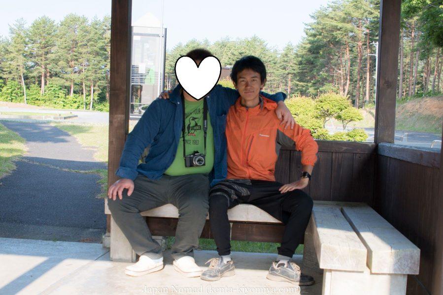 自転車日本一周47日目(北山崎)-Japan Nomad (12)