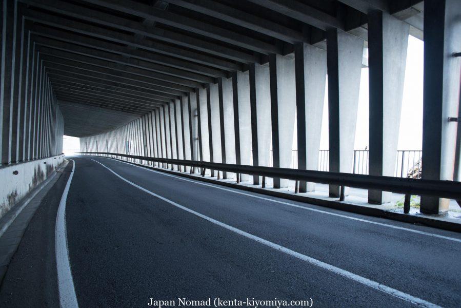 自転車日本一周47日目(北山崎)-Japan Nomad (16)
