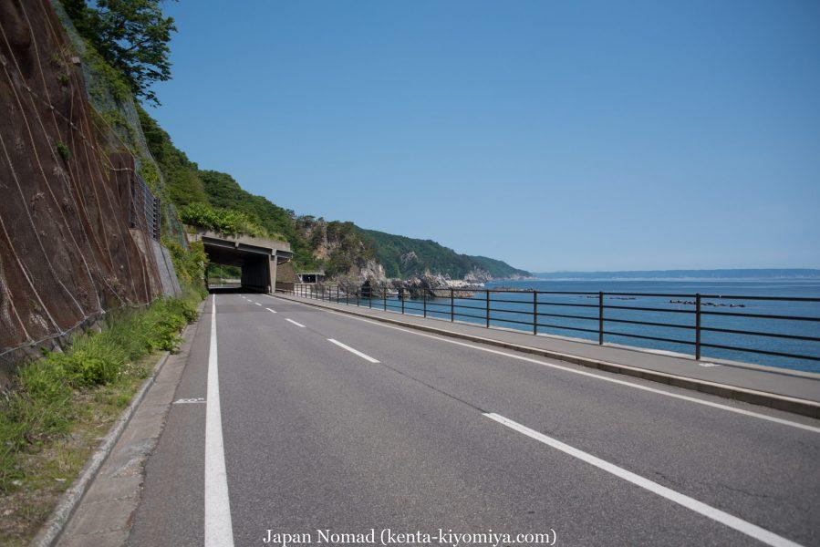 自転車日本一周47日目(北山崎)-Japan Nomad (17)