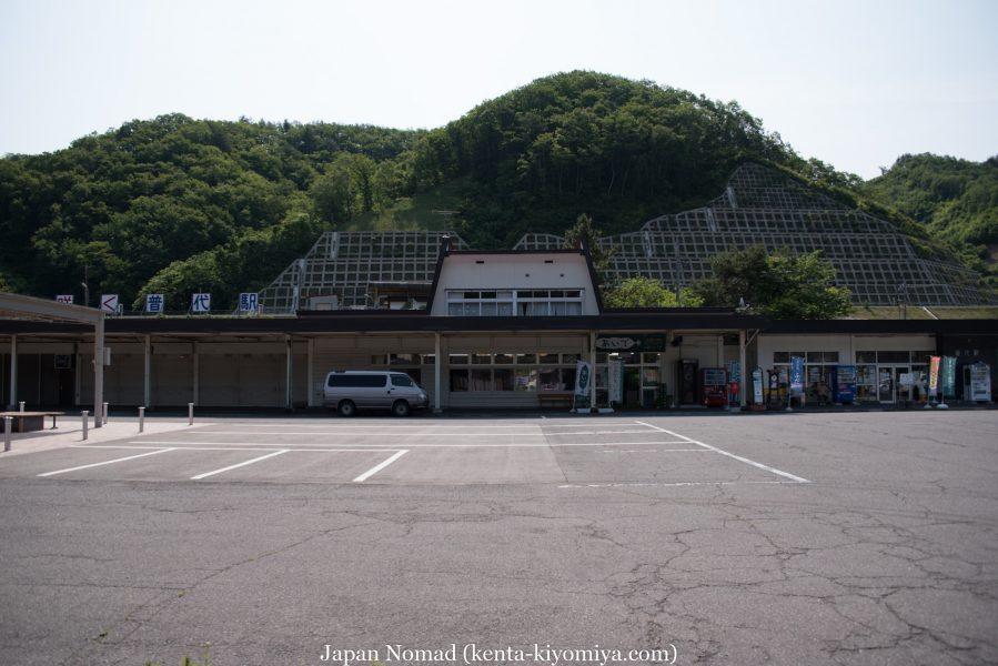 自転車日本一周47日目(北山崎)-Japan Nomad (22)