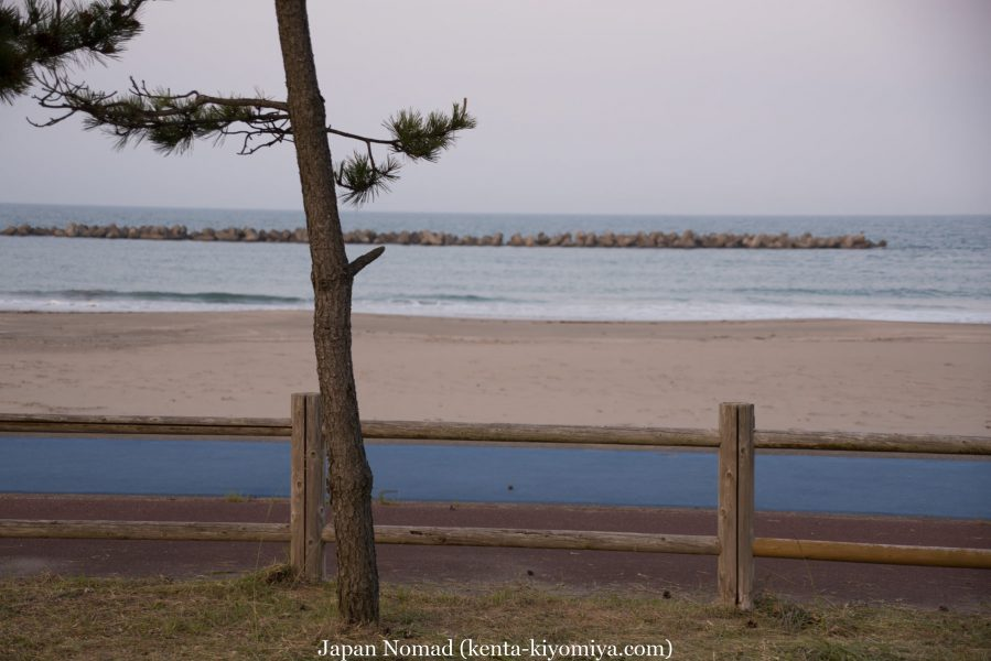自転車日本一周47日目(北山崎)-Japan Nomad (45)