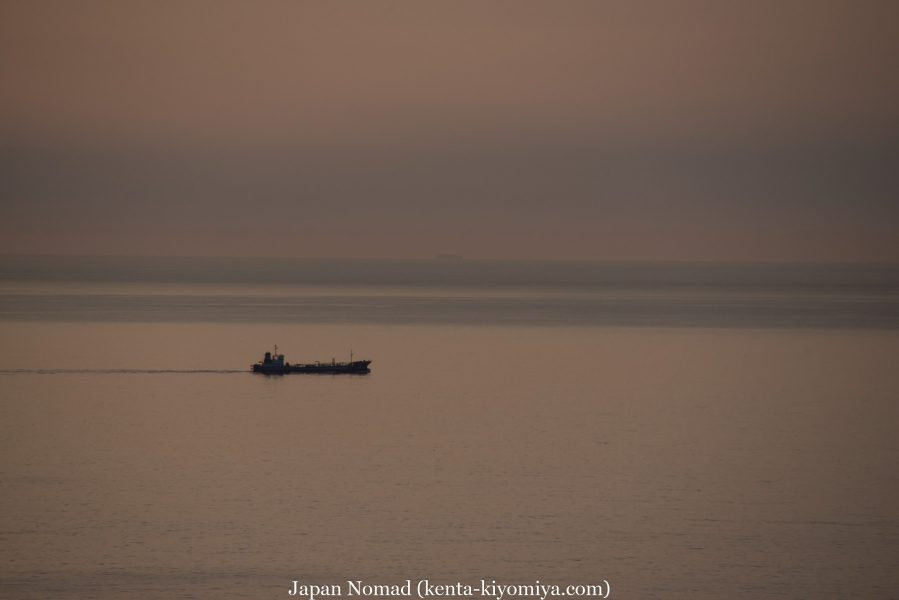 自転車日本一周47日目(北山崎)-Japan Nomad (7)