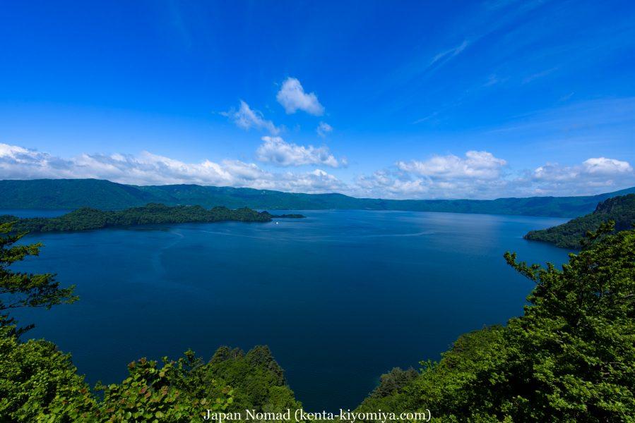 自転車日本一周50日目(十和田湖、奥入瀬渓流)-Japan Nomad (25)