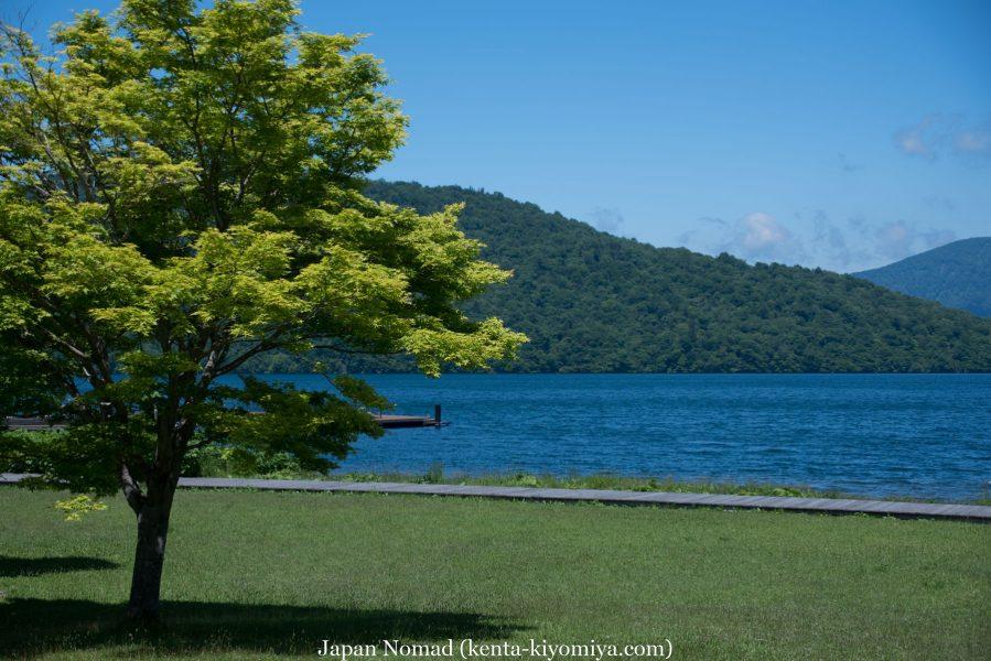 自転車日本一周50日目(十和田湖、奥入瀬渓流)-Japan Nomad (30)