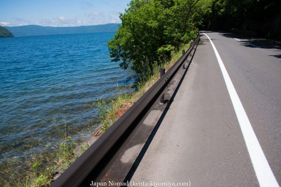 自転車日本一周50日目(十和田湖、奥入瀬渓流)-Japan Nomad (32)