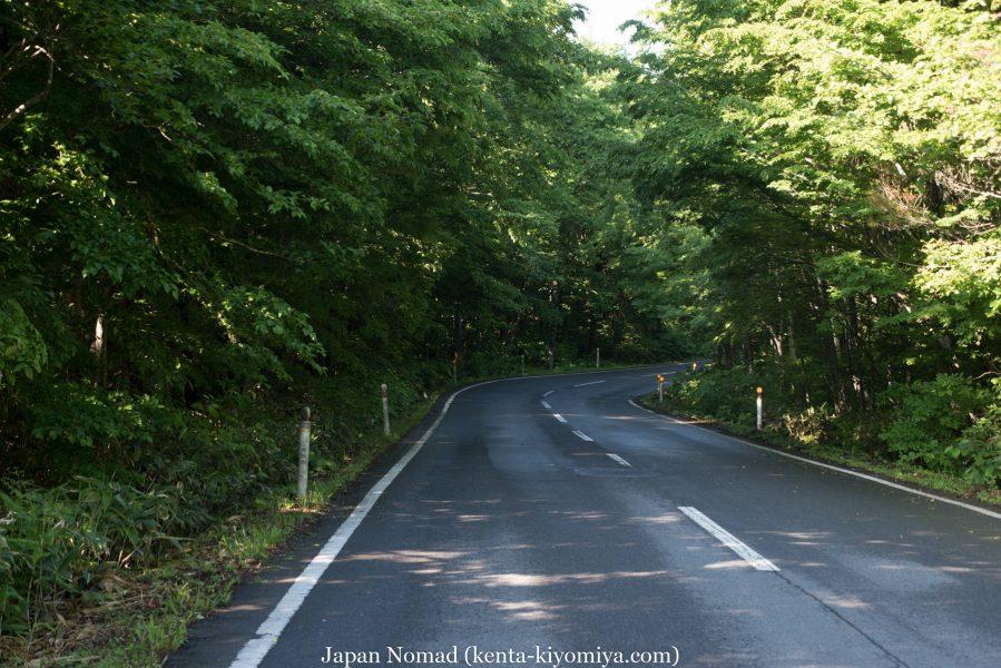 自転車日本一周50日目(十和田湖、奥入瀬渓流)-Japan Nomad (6)
