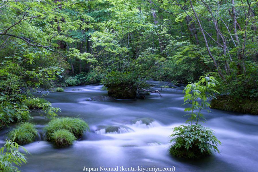 自転車日本一周50日目(十和田湖、奥入瀬渓流)-Japan Nomad (64)