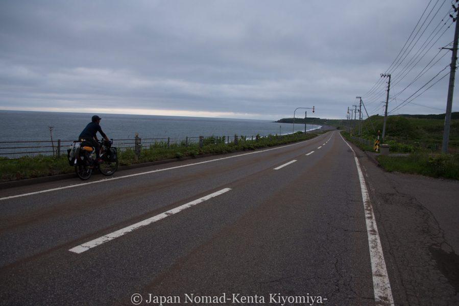 自転車日本一周58日目(北海道最南端)-Japan Nomad (50)
