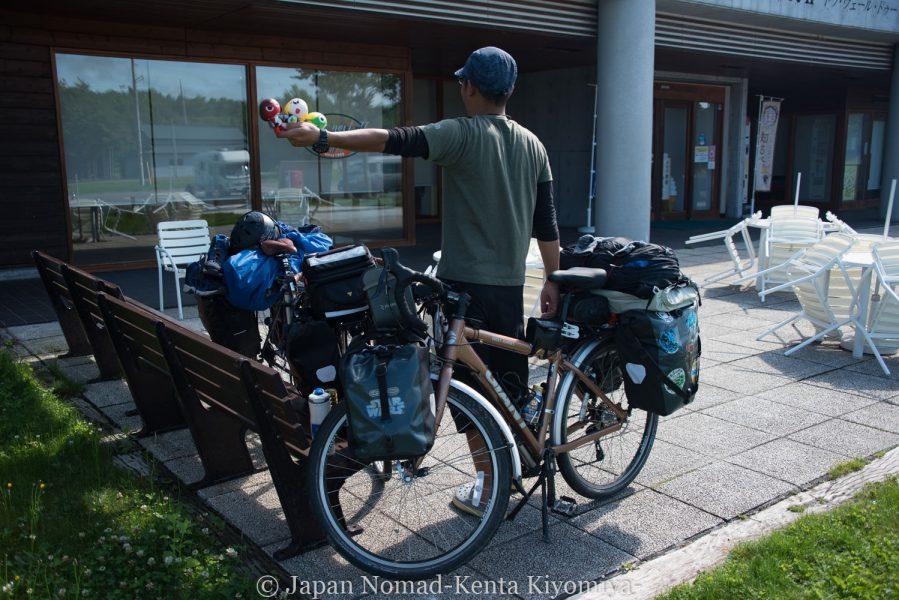 自転車日本一周62日目(神威岬)-Japan Nomad (2)