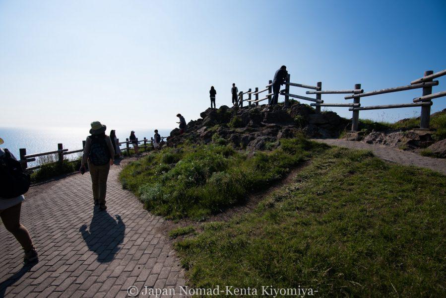 自転車日本一周62日目(神威岬)-Japan Nomad (43)