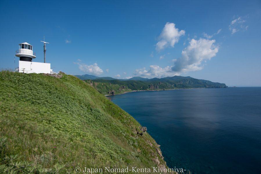 自転車日本一周62日目(神威岬)-Japan Nomad (50)