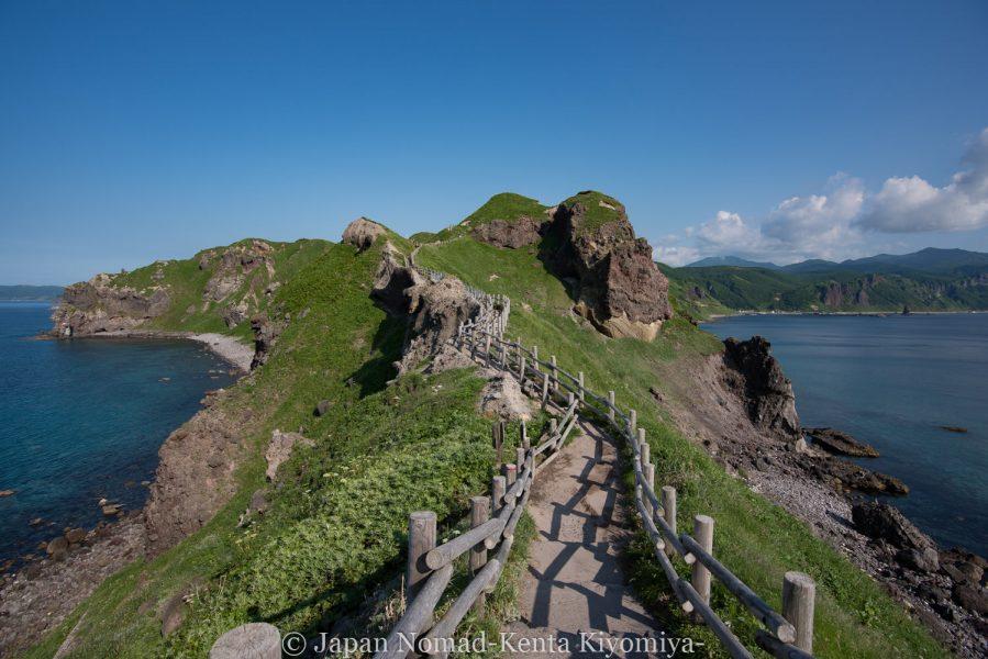 自転車日本一周62日目(神威岬)-Japan Nomad (53)