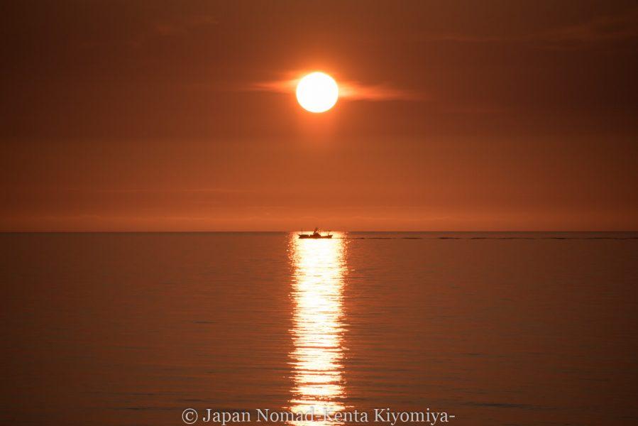自転車日本一周62日目(神威岬)-Japan Nomad (60)