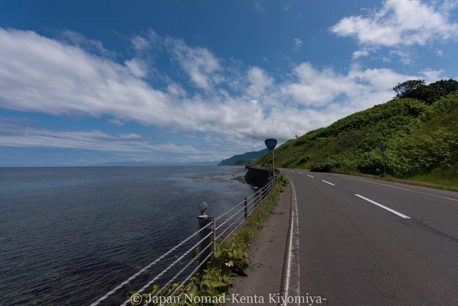 自転車日本一周62日目(神威岬)-Japan Nomad (9)