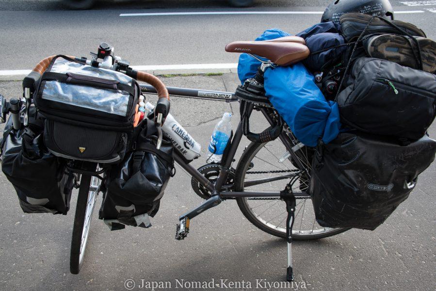 自転車日本一周65日目(札幌へ!)-Japan Nomad (22)
