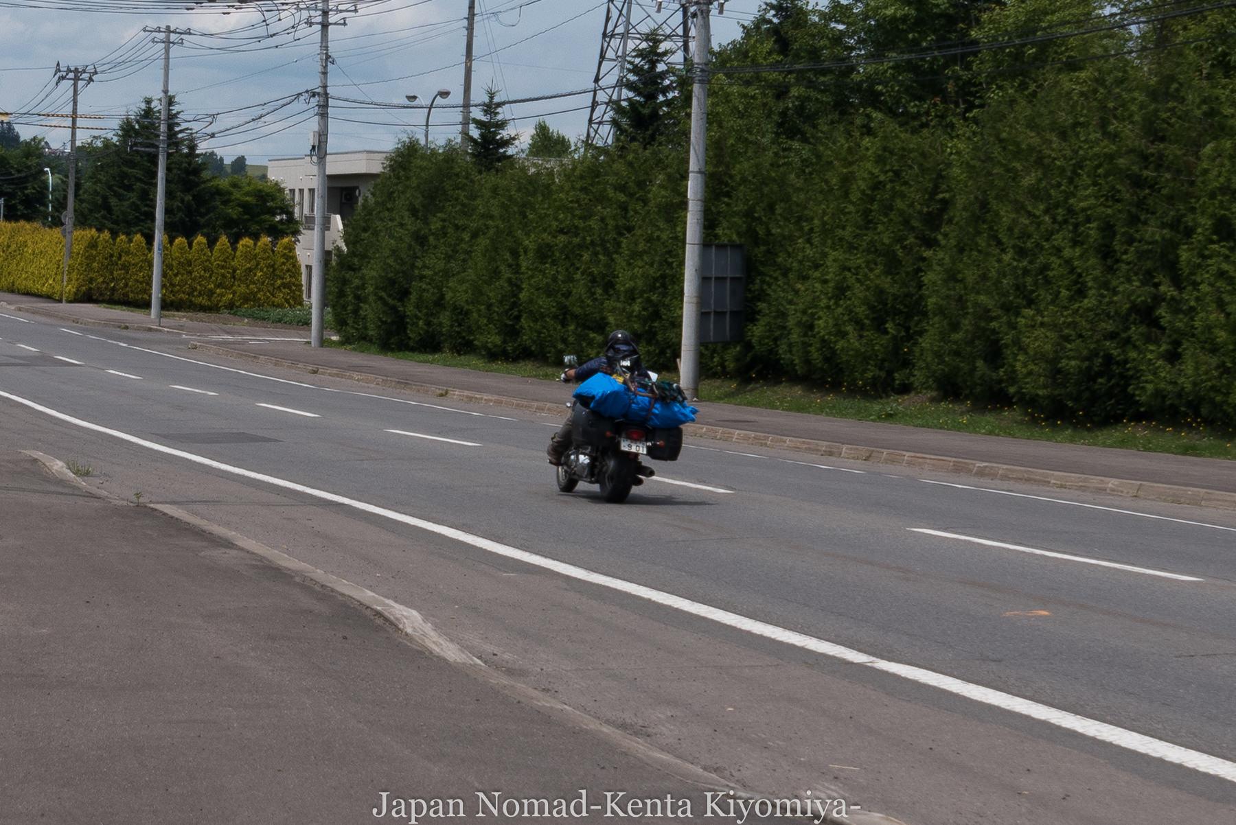 自転車日本一周74日目(旭川)-Japan Nomad (2)