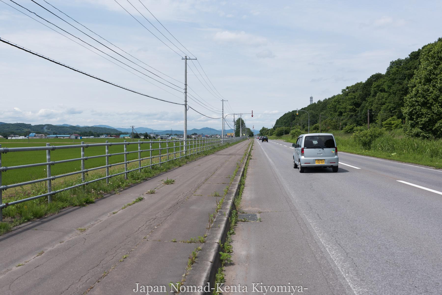 自転車日本一周74日目(旭川)-Japan Nomad (4)