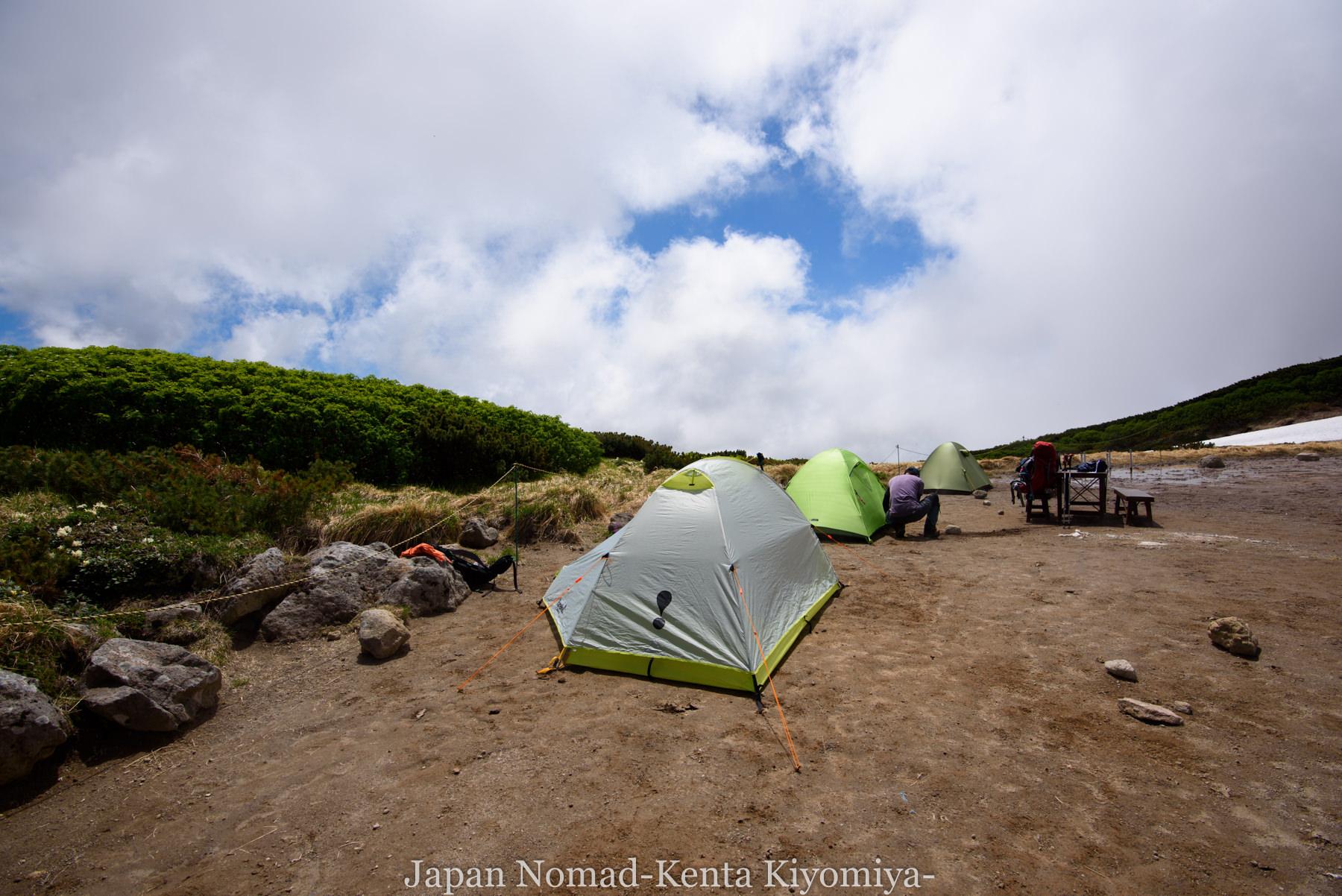 自転車日本一周77日目(大雪山縦走)-Japan Nomad (49)
