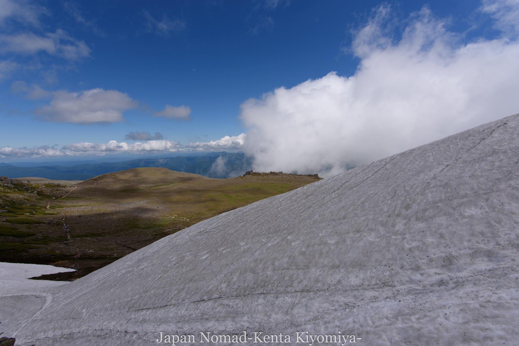 自転車日本一周77日目(大雪山縦走)-Japan Nomad (66)