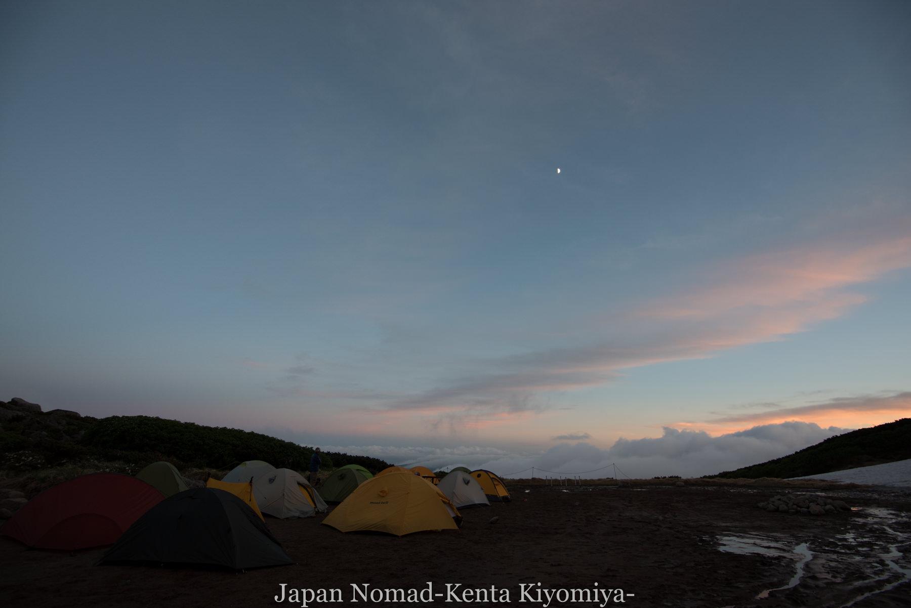 自転車日本一周77日目(大雪山縦走)-Japan Nomad (81)