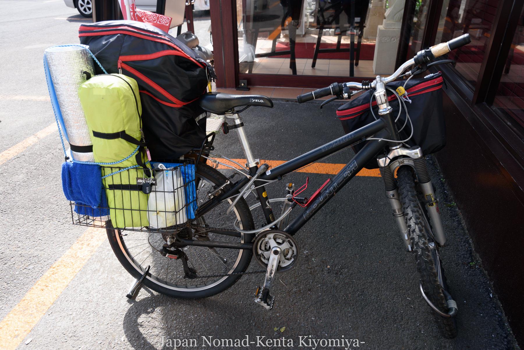 自転車日本一周80日目(留萌黄金岬)-Japan Nomad (1)
