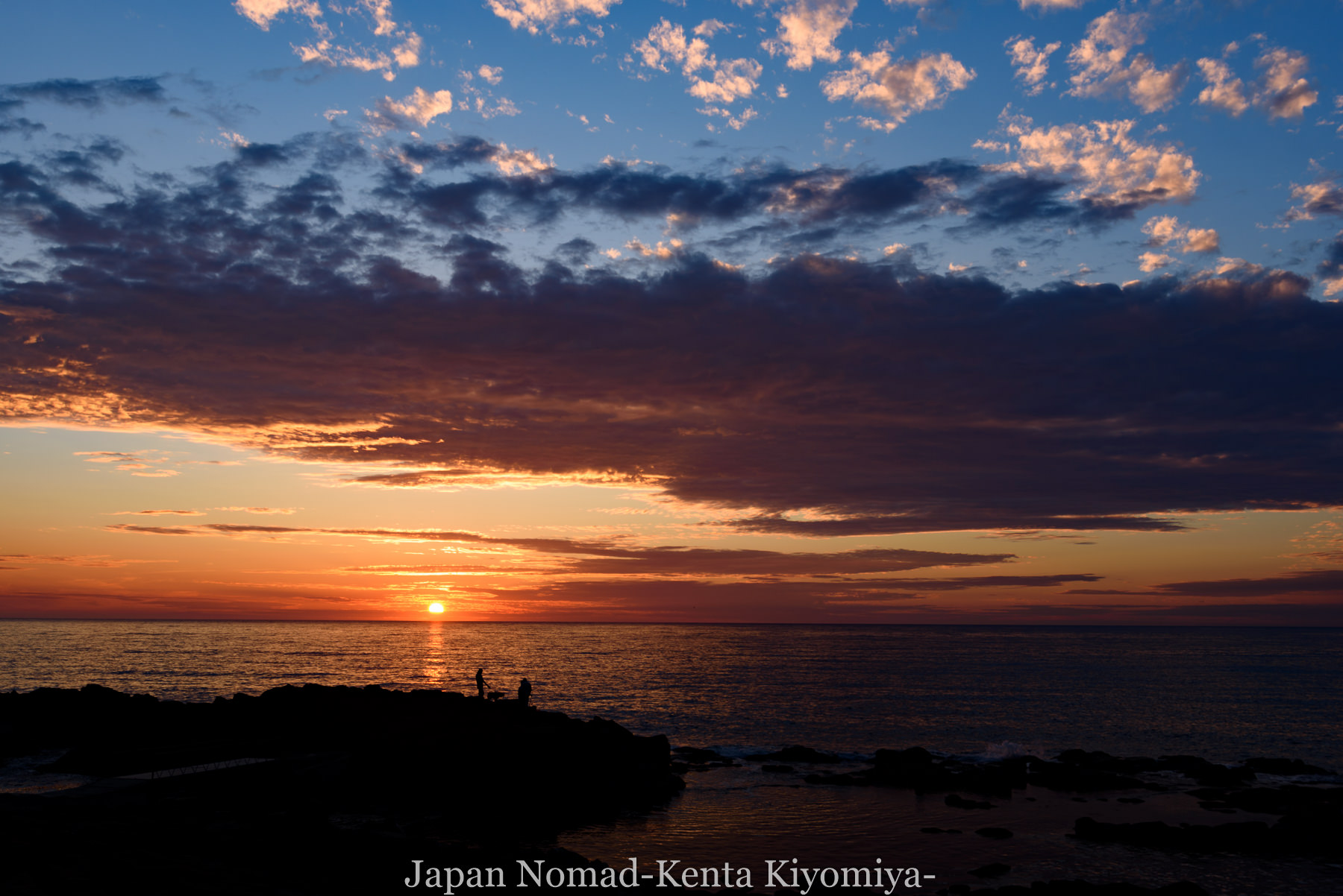 自転車日本一周80日目(留萌黄金岬)-Japan Nomad (33)