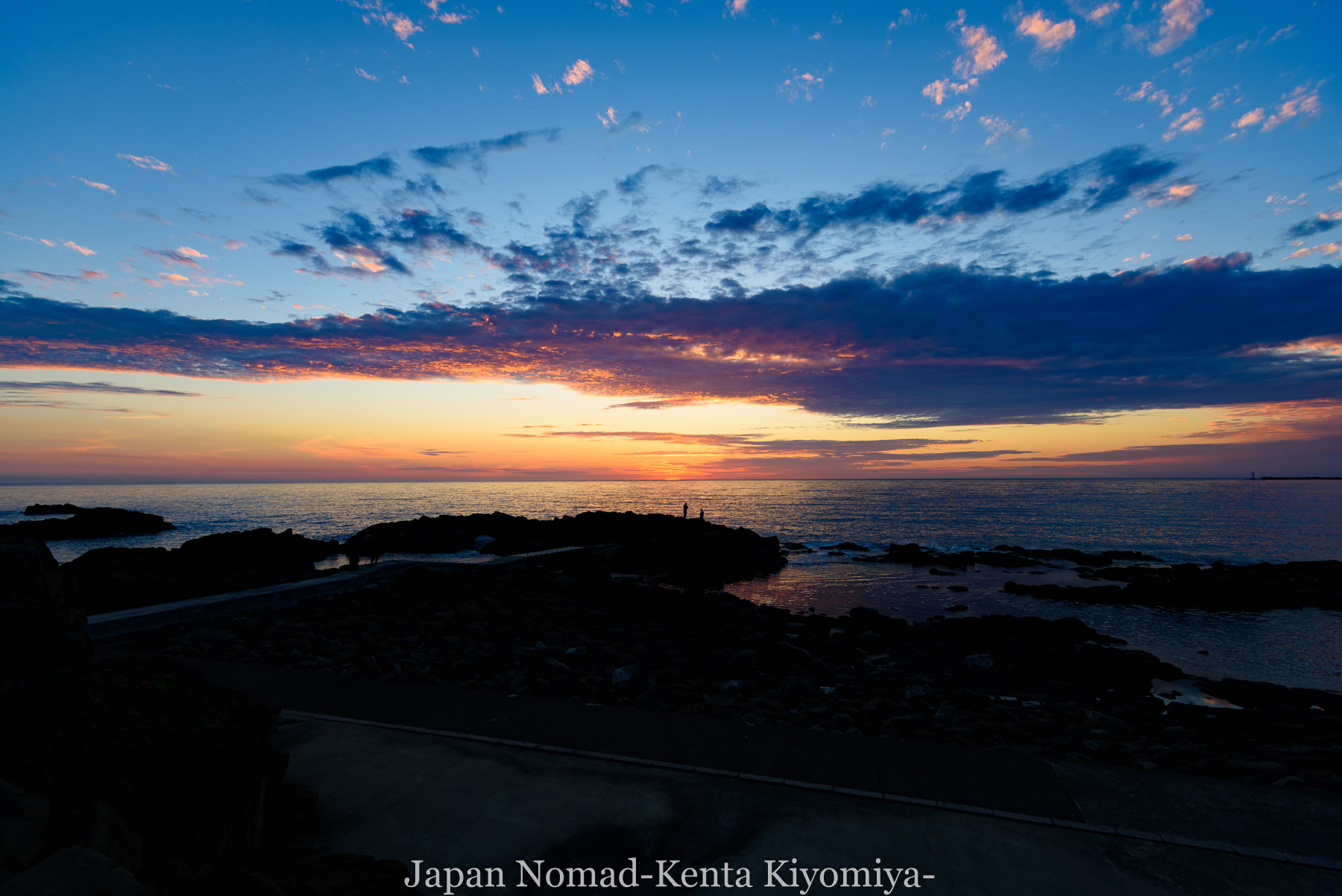 自転車日本一周80日目(留萌黄金岬)-Japan Nomad (37)