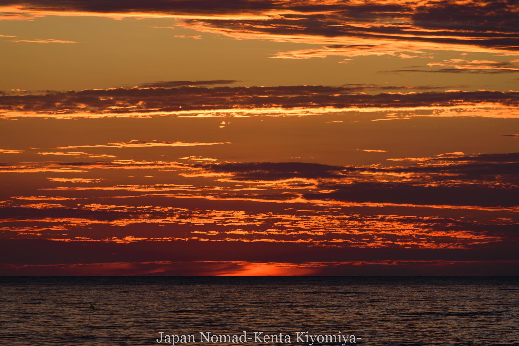 自転車日本一周80日目(留萌黄金岬)-Japan Nomad (38)