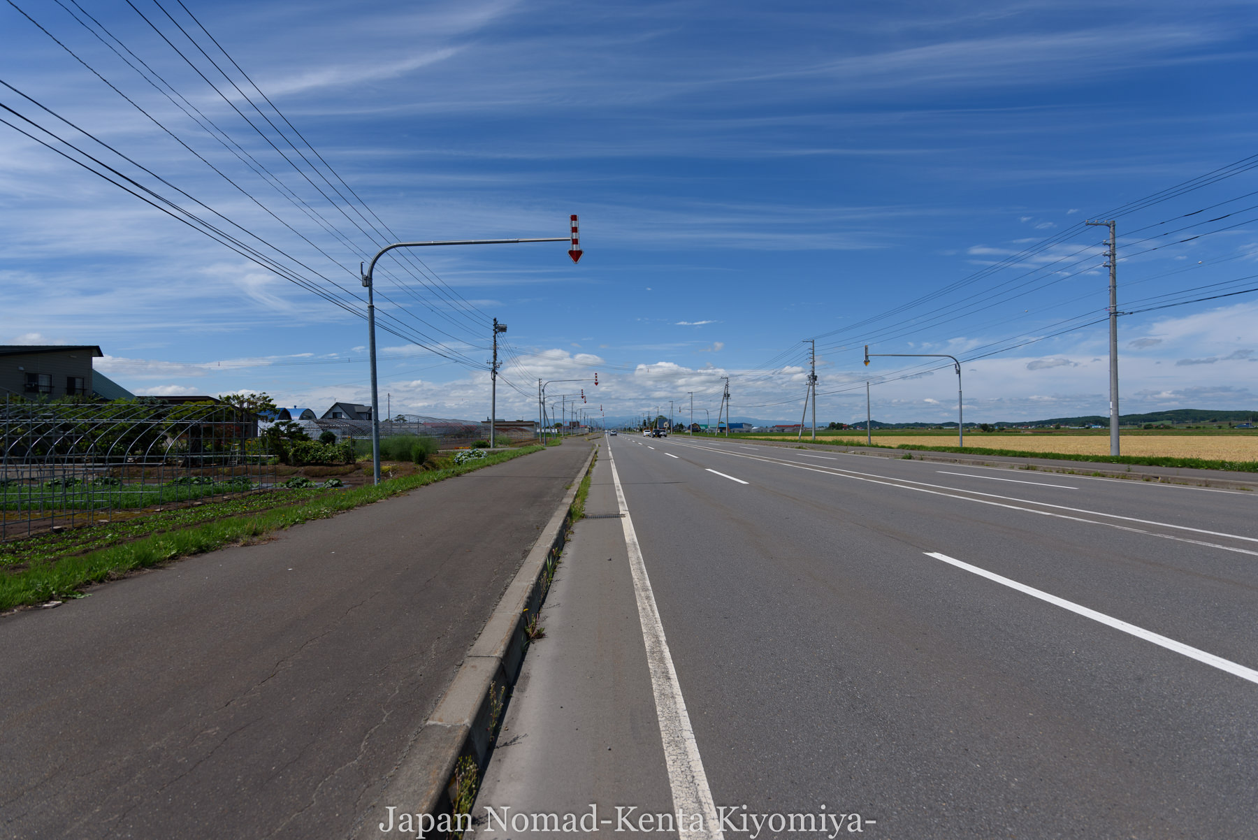 自転車日本一周80日目(留萌黄金岬)-Japan Nomad (5)