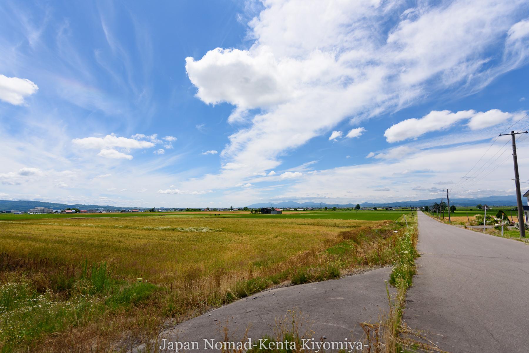 自転車日本一周80日目(留萌黄金岬)-Japan Nomad (6)