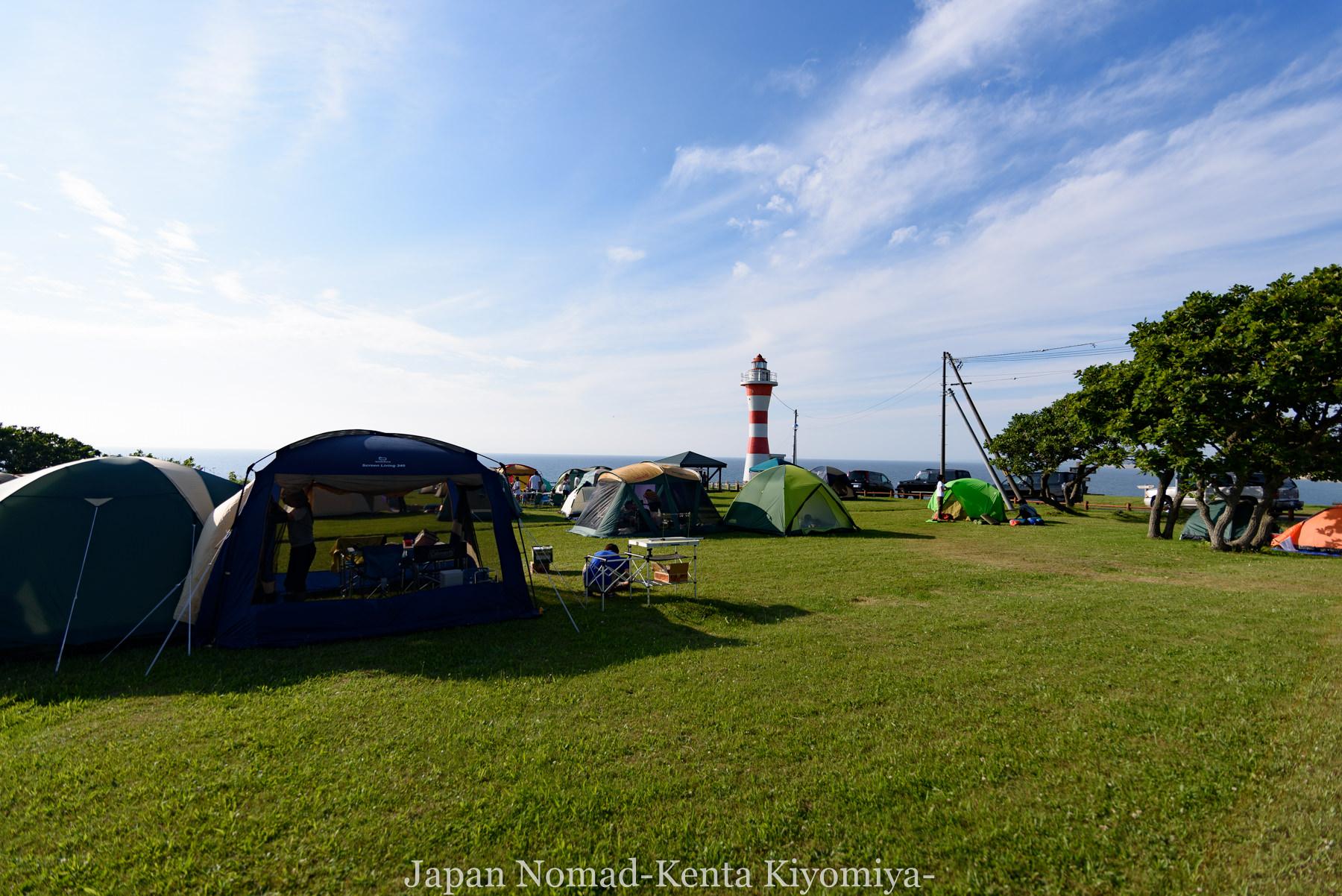 自転車日本一周81日目(オロロンライン)-Japan Nomad (28)