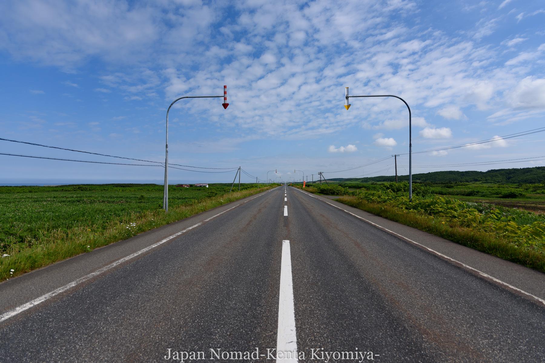 自転車日本一周82日目(オロロンライン)-Japan Nomad (3)