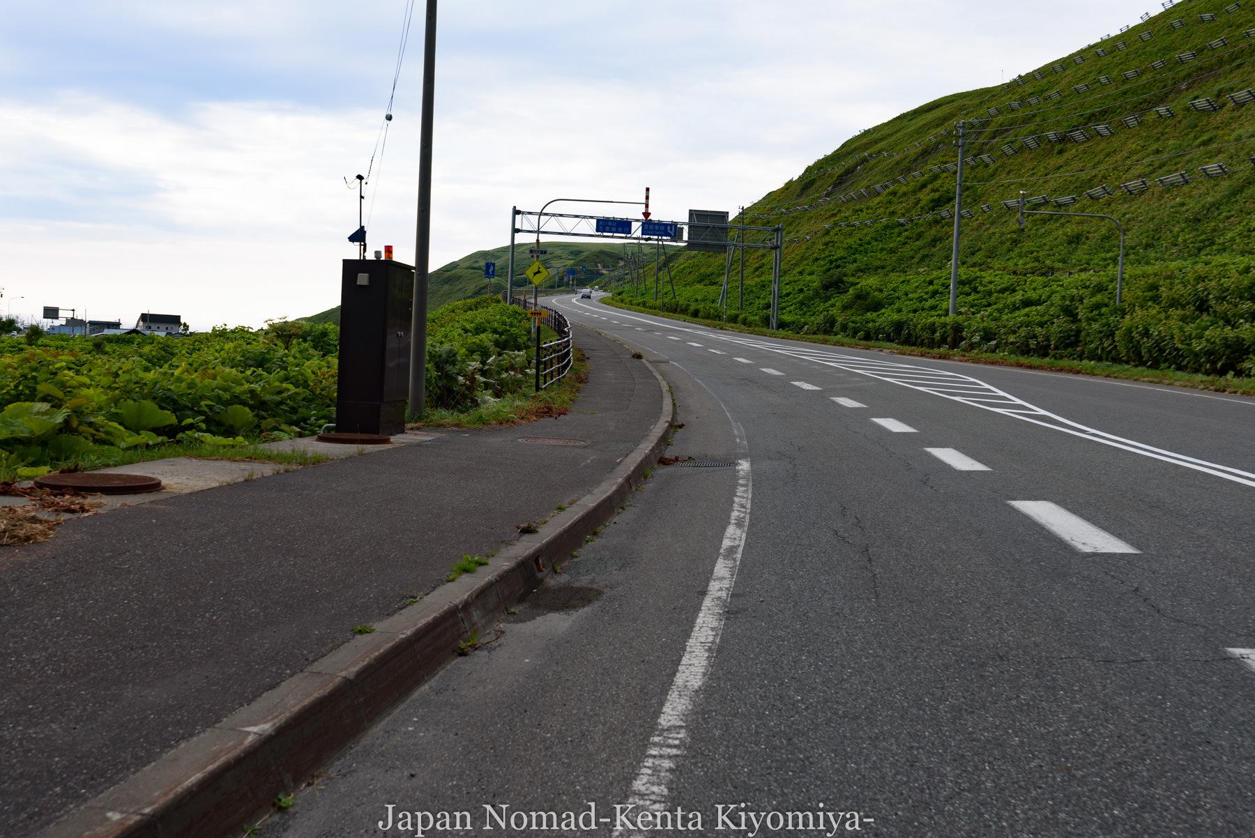 自転車日本一周82日目(オロロンライン)-Japan Nomad (42)