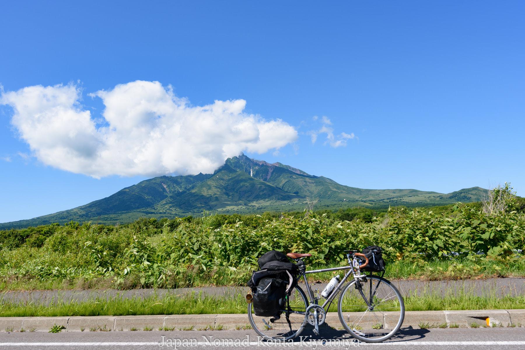 自転車日本一周85日目(利尻島)-Japan Nomad (24)