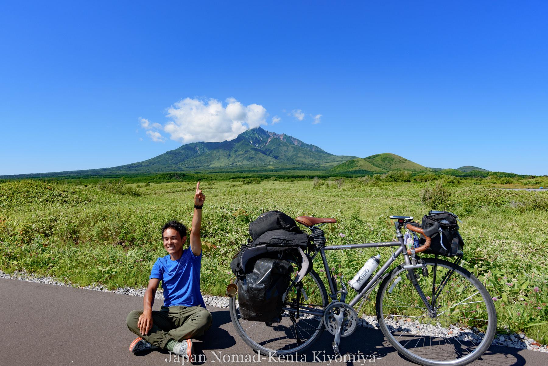 自転車日本一周85日目(利尻島)-Japan Nomad (25)