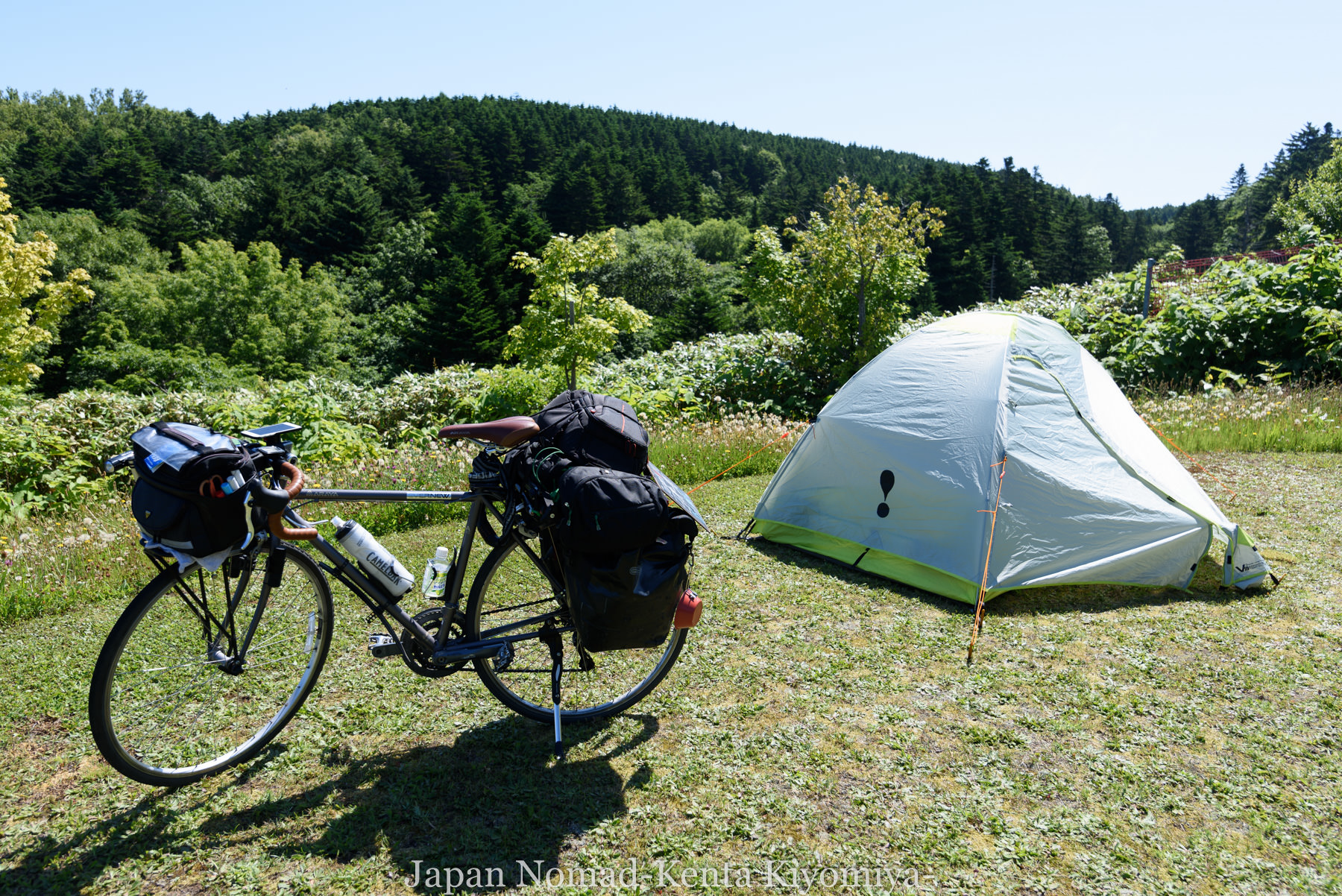 自転車日本一周85日目(利尻島)-Japan Nomad (9)
