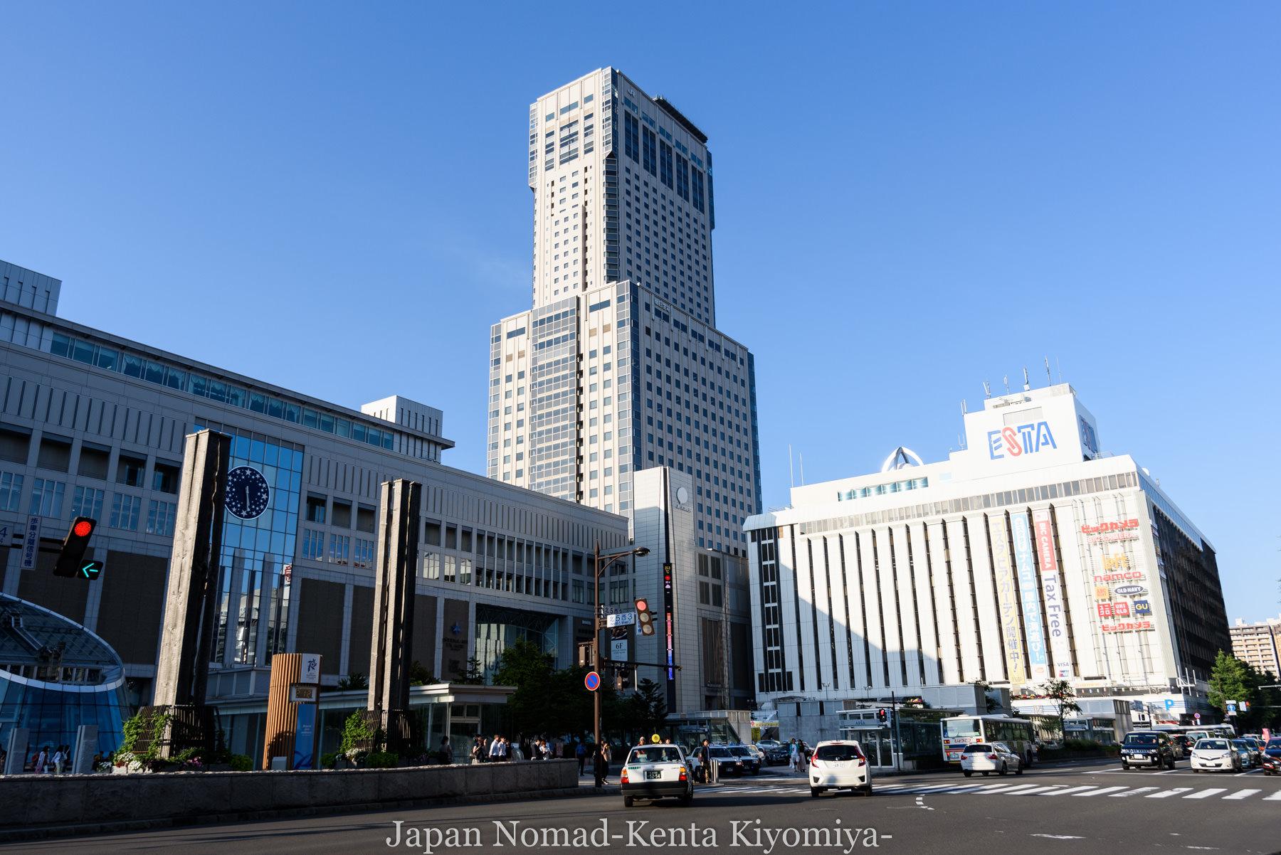 自転車日本一周87日目(iphone修理で札幌へ)-Japan Nomad (15)