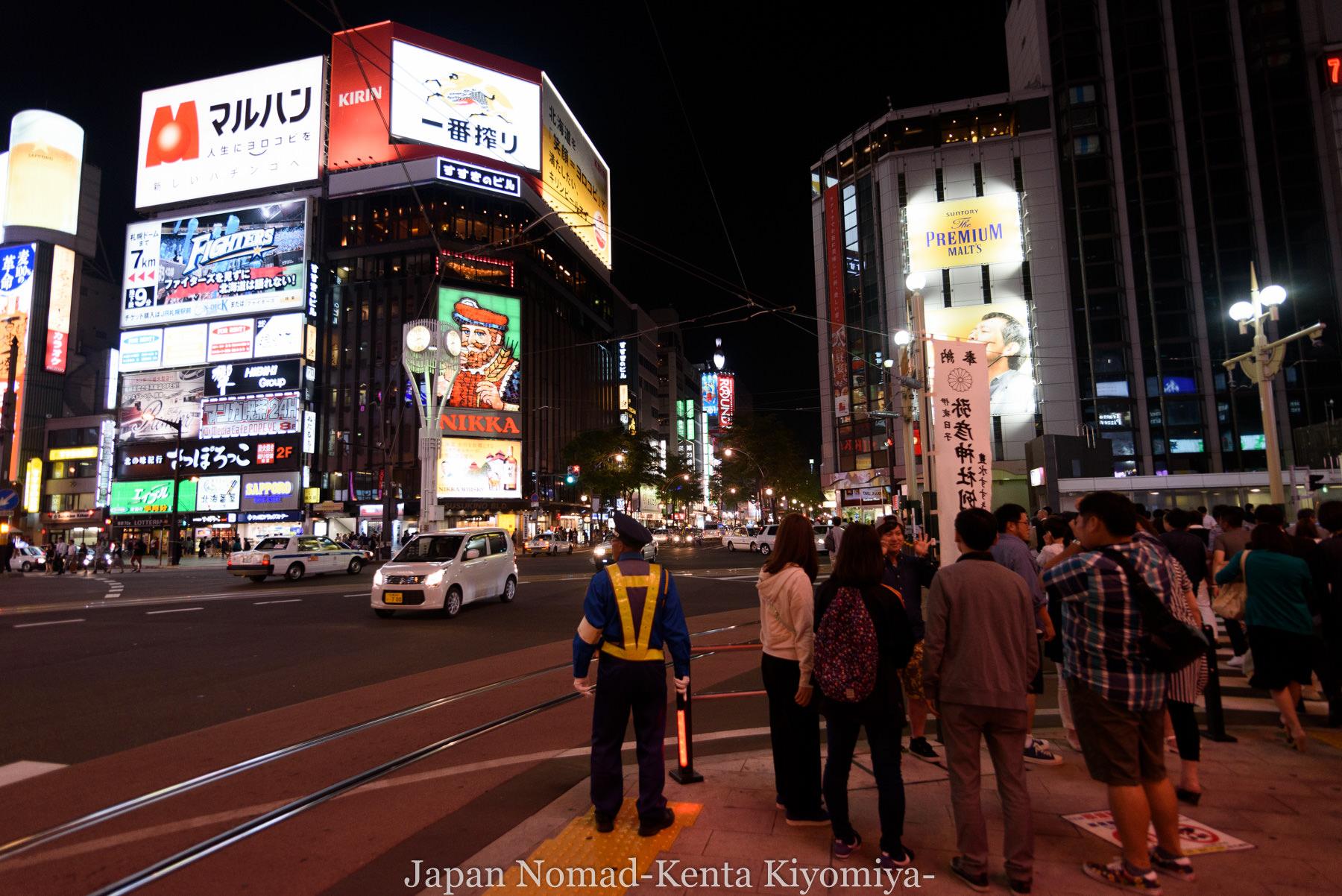 自転車日本一周87日目(iphone修理で札幌へ)-Japan Nomad (22)