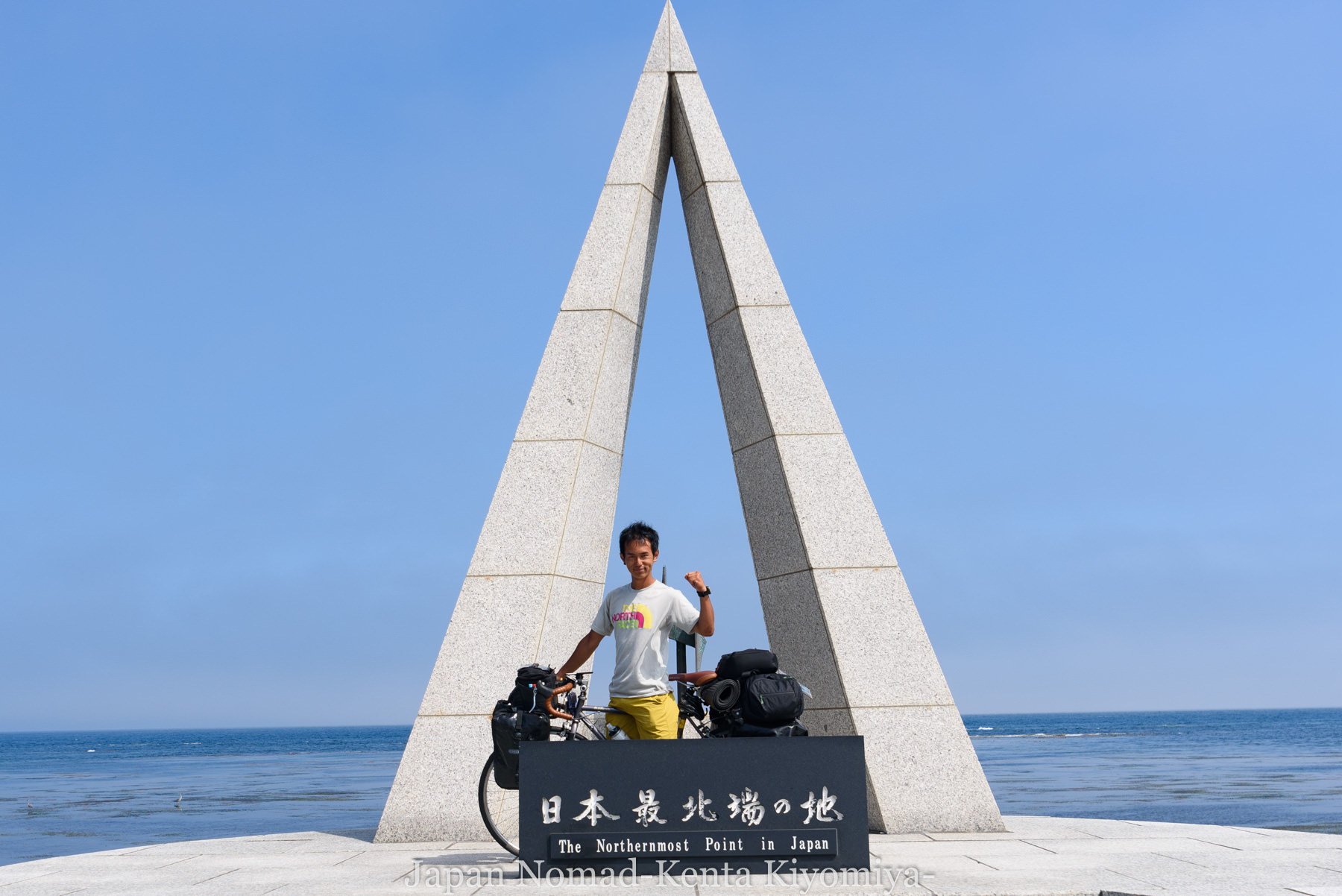 自転車日本一周89日目(宗谷岬、クッチャロ湖)-Japan Nomad (12)
