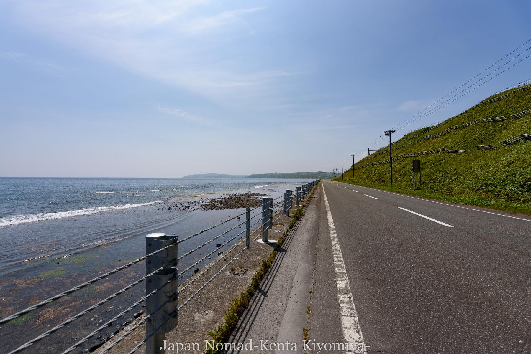 自転車日本一周89日目(宗谷岬、クッチャロ湖)-Japan Nomad (14)