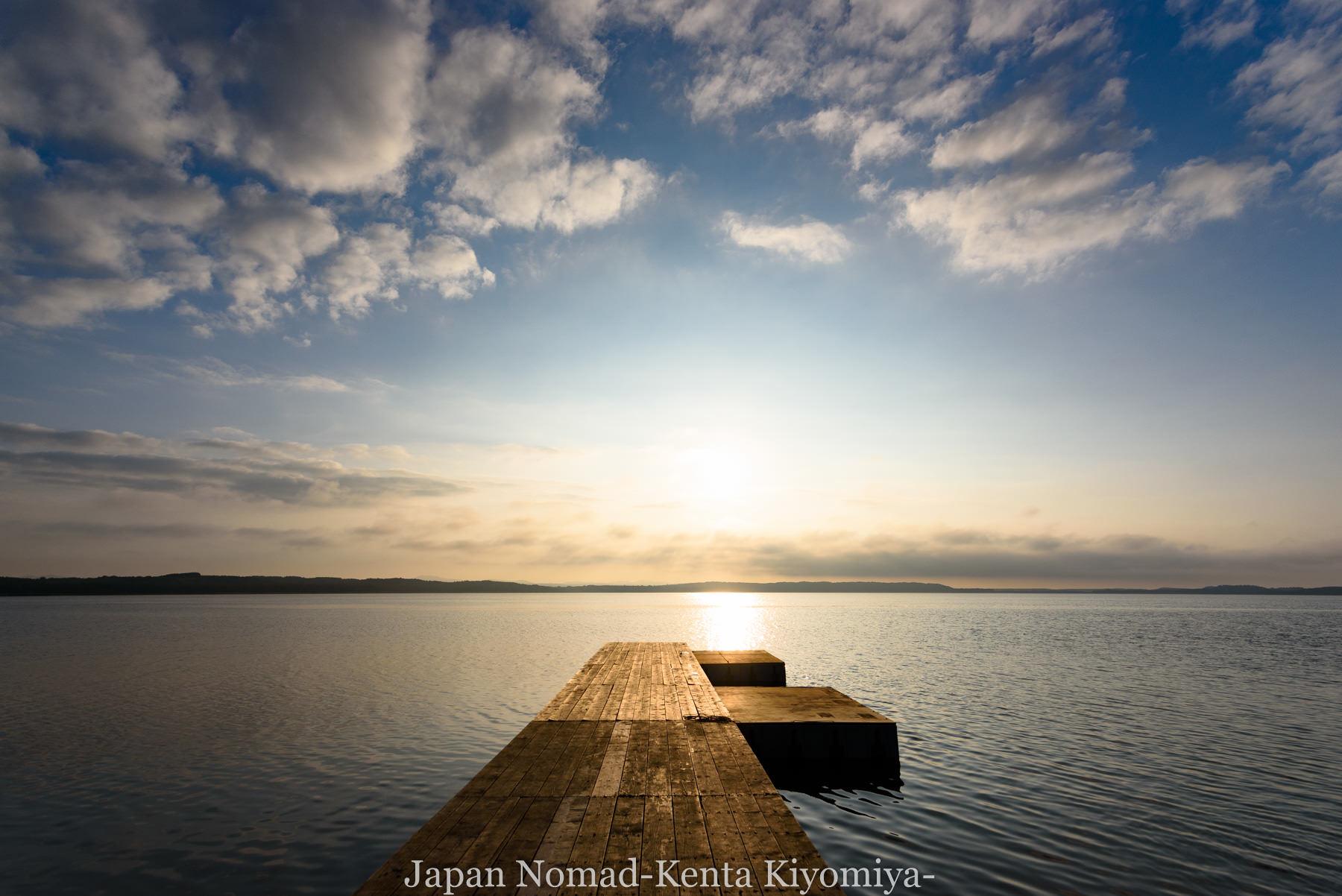 自転車日本一周89日目(宗谷岬、クッチャロ湖)-Japan Nomad (32)