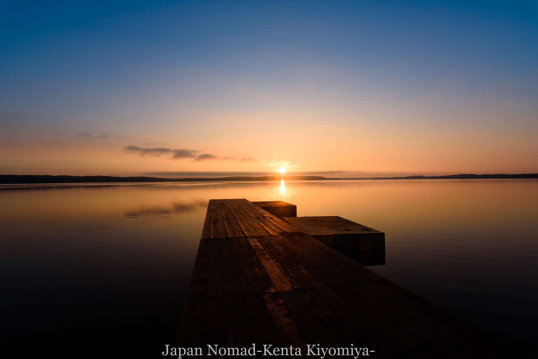 自転車日本一周89日目(宗谷岬、クッチャロ湖)-Japan Nomad (37)